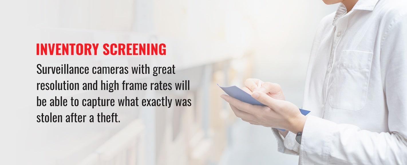 Inventory-screening